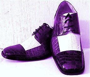 Men's Purple 70's Pimp Shoes