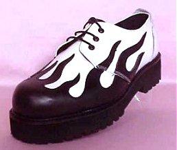 1970's Cab Mens Accessories - Capones Disco Gangster Platform Shoes