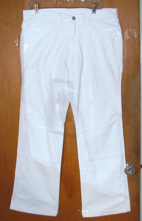 Mens White Corduroy Pants | Gpant
